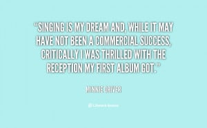 Singing Is My Life Quotes