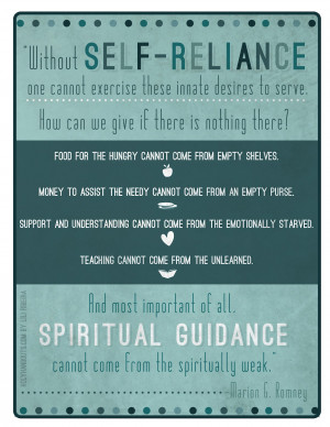 Self Reliance Quotes Tumblr