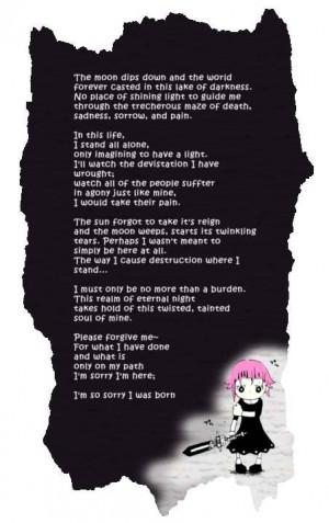 Soul Eater crona poem