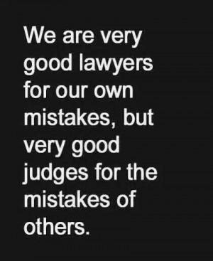Quick to judge!