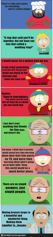 Some great South Park quotes