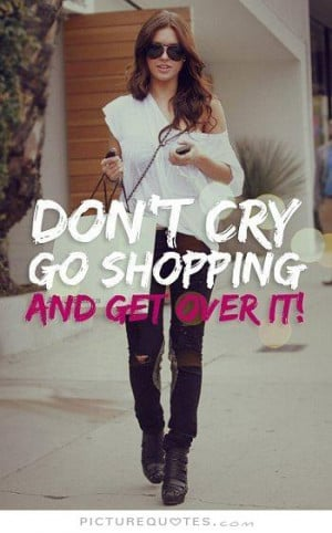 Funny Shopping Quotes
