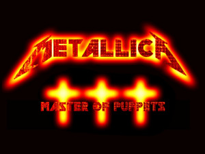 Metallica Master of Puppets v2 by superb4ll