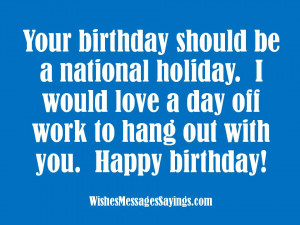 Birthday Sayings