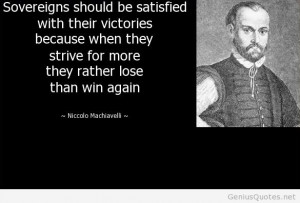 Niccolo Machiavelli – 10 Quotes