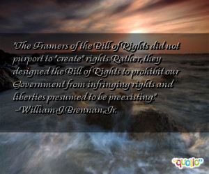 The Framers of the Bill of Rights