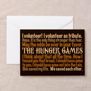 Important Hunger Games Quotes With Page Numbers