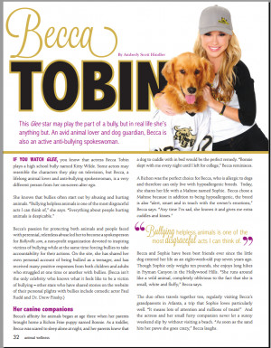 Article by: Animal Wellness Magazine