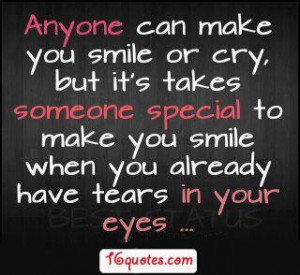 It Takes A Special Person