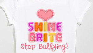Bullying Quotes Live Tee Shirts For Young Girls And Teens
