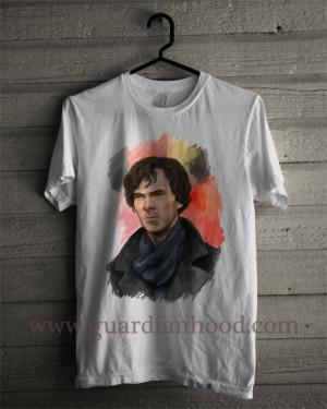 sherlock holmes benedict cumberbatch Unisex Jersey Knit T Shirt