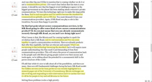 ... PDF file allegedly sent from Homeland Security officers to Sadler