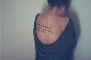 Words Quotes For Tattoo