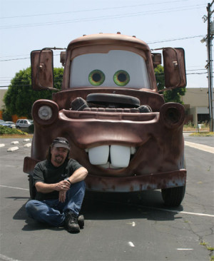 Cars The Movie Mater