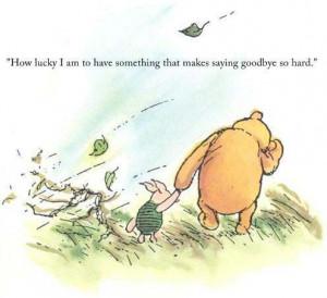 ... goodbye so hard