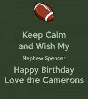 Happy Birthday My Nephew Quotes