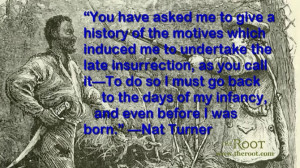 Nat Turner Quote Picture