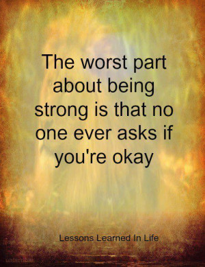 Being strong... It Really Can Get Lonely..xoxo I Miss My Husband, My ...