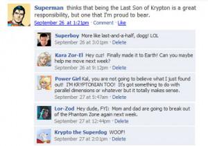 Funny Facebook Status...