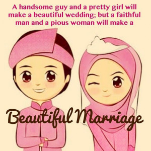 handsome guy and a pretty girl will make a beautiful wedding, but a ...