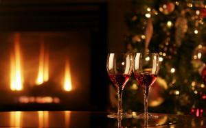 Cena romantica Navidad