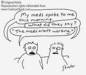 Funny Schizophrenia situation