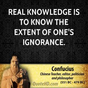 Confucius Intelligence Quotes