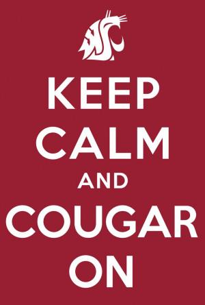 Washington State Cougars #gocougs #cougars