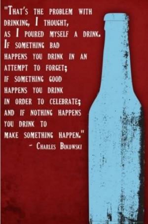 Charles Bukowski speaking truths