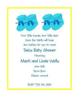 Baby and Children Adoption Shower Invitations