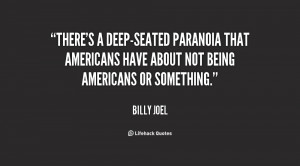 Paranoid Quotes