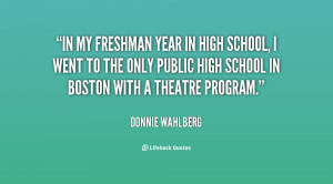 High School Freshman Year Quotes Wallpaper