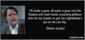 robert jordan quotes and sayings