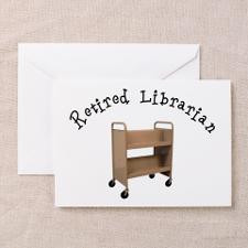 Librarian Retirement Greeting Cards