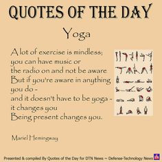 Day ~ March 26, 2012 by DTN News, via Flickr - I love yoga yoga quotes ...