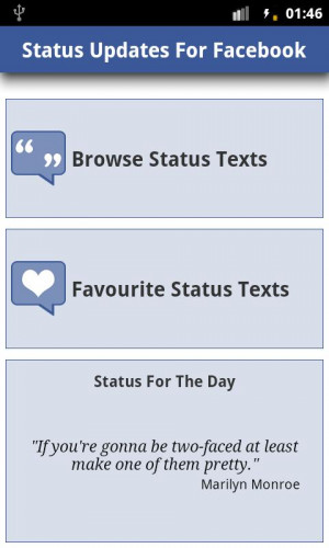 statuses funny quotes for facebook cute quotes for facebook status ...