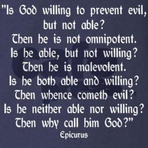 Epicurus Quote T on