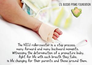 Nicu Preemie Baby Quotes