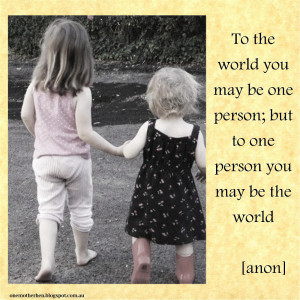 quotes about big brothers and little sisters