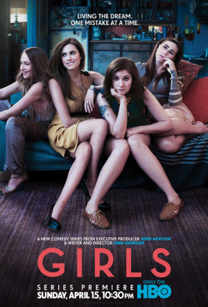 GIRLS [HBO] #1 ~ I think I may be the voice of my generation. Or at ...