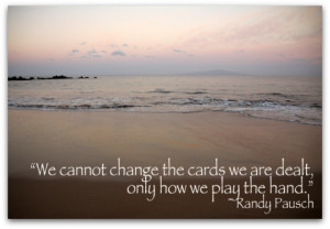 Randy Pausch Life Quotes