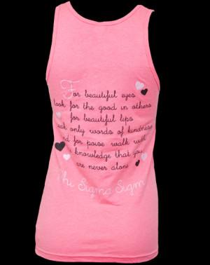 phi sigma sigma love tank greek t shirt love phi sigma sigma sorority ...