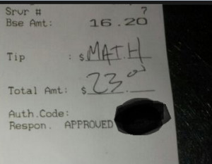 ... Fails ... 20+(pics) How your waiter/waitress really feels about you
