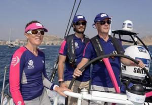 Prince Carl Philip of Sweden is attending the Volvo Ocean Race start ...