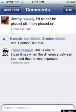 12 Hilarious Grammar Mistakes on Facebook & SMS