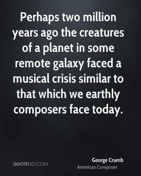 george-crumb-george-crumb-perhaps-two-million-years-ago-the-creatures ...