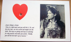 Unique Annie Oakley Collectible Offered