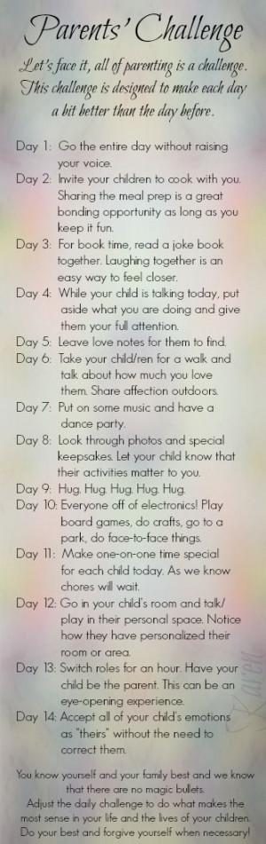 Parents Challenge