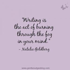 Natalie Goldberg #quote #writing