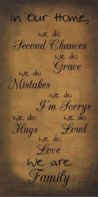 ... sayings-quotes/gold-primitive-style-signs-sayings/in-our-home-we-are
